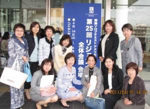 全員の集合写真2011-4-15
