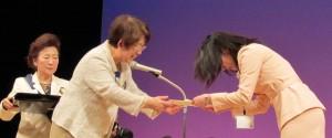 吉崎さん受賞の時、2011-4-14