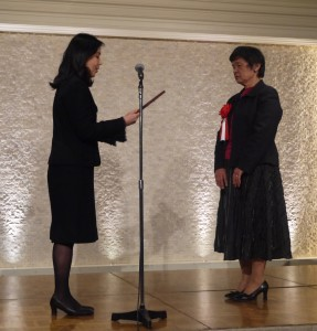 アウラ表彰式1